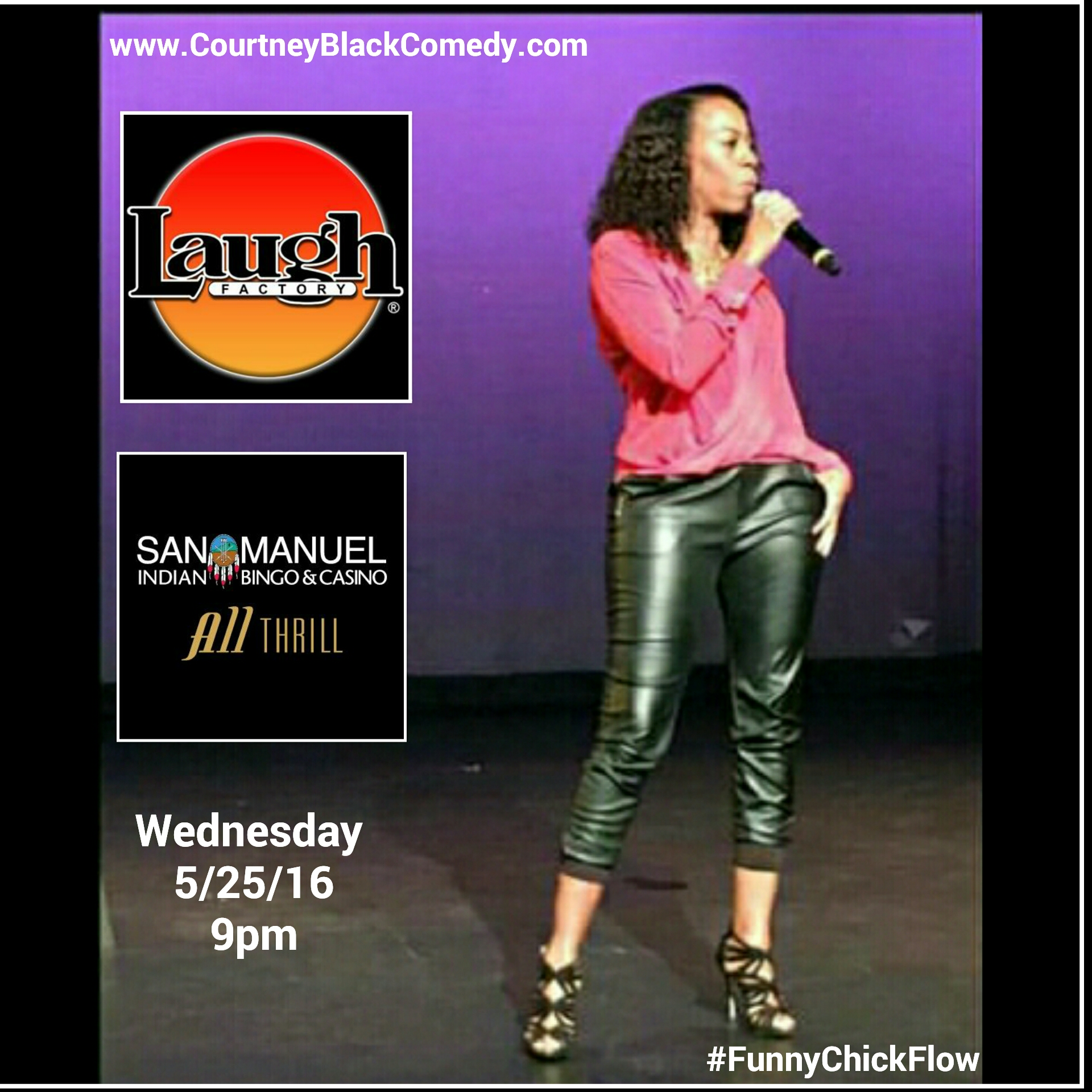 Laugh Factory in San Manuel Casino