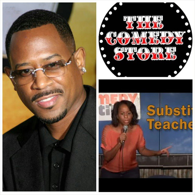I'm opening for Martin Lawrence