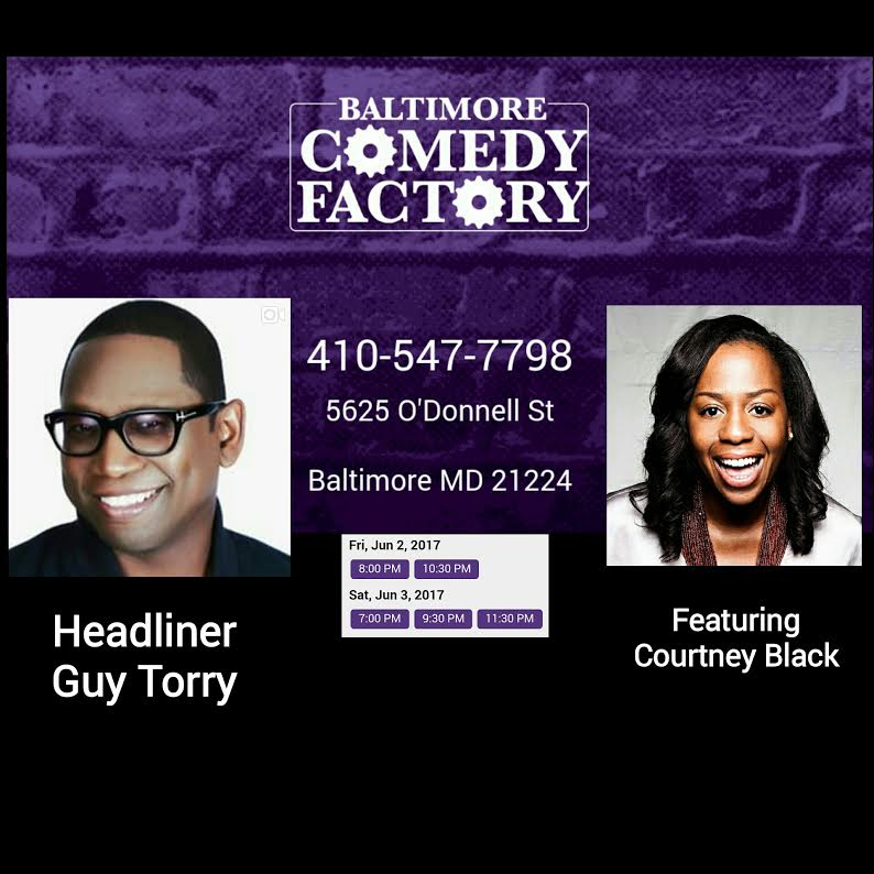 Guy Torry & I in Baltimore, Md!
