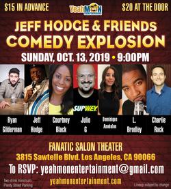 Jeff Hodge & Friends Comedy Explosio