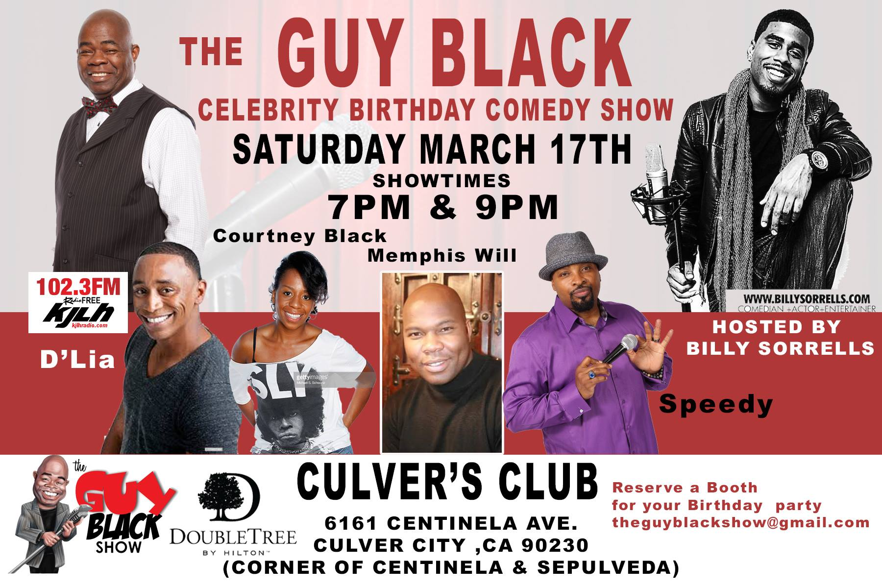 3/17/18 Guy Black's Bday