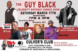 3/17/18 Guy Black's Bday
