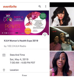 5/4/19, KJLH Women's Health Expo