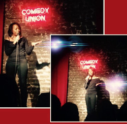 Comedy Union Lazer Fingers