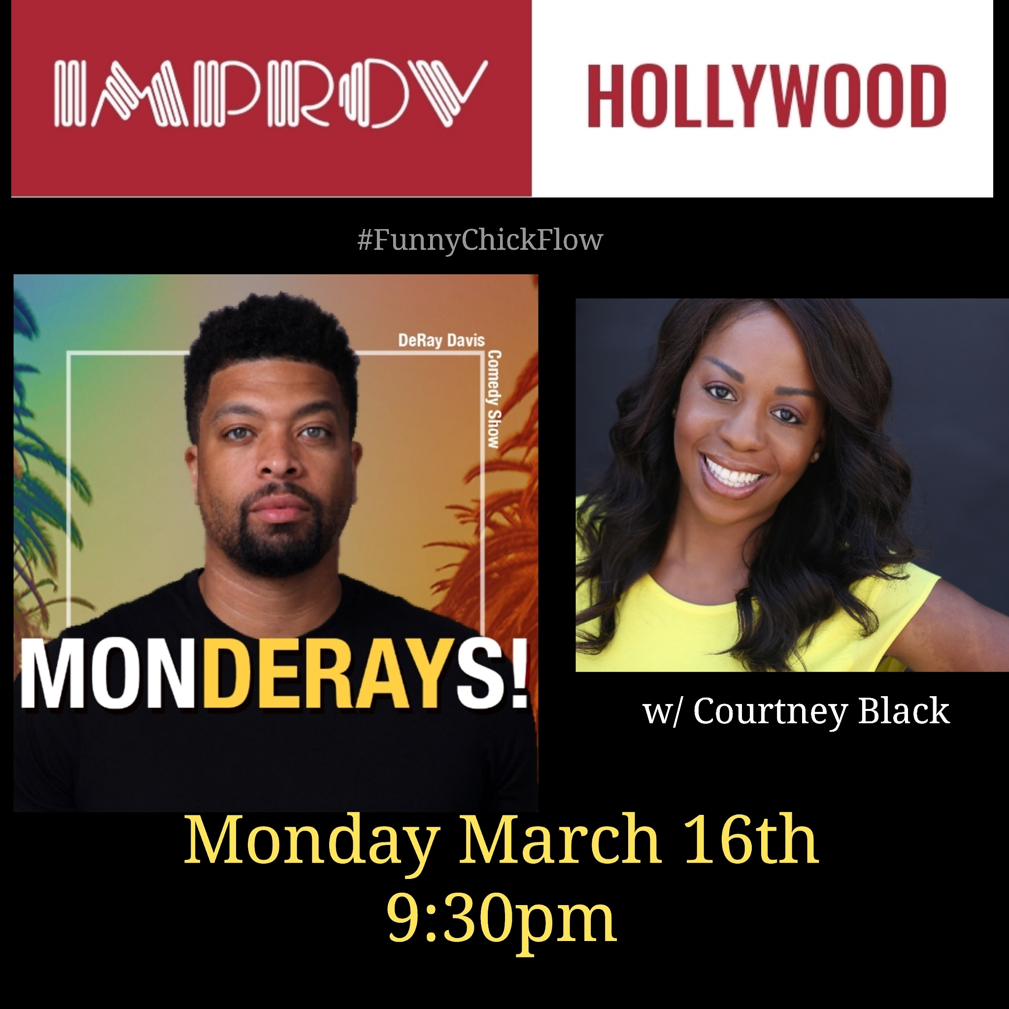 Hollywood Improv - 3/16/2020
