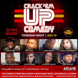 July 19, 2018 @ The Comedy Store