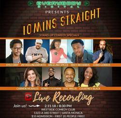 Sunday 2/11/18 in Santa Monica!