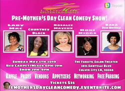 5/5/19, Pre-Mother's Day Show