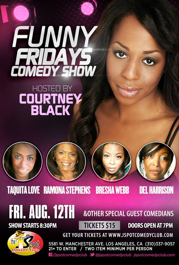 #FunnyFridays Aug 12th, 8:30pm