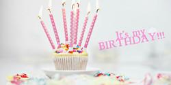 Happy Birthday to me.....