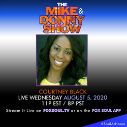 Catch me on the Mike & Donny Show
