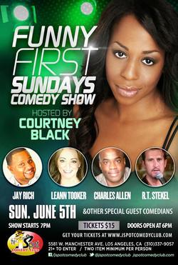 Funny 1st Sundays June 5, 2016, 7pm