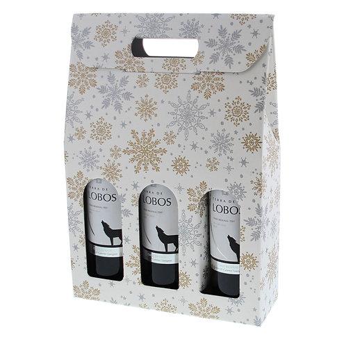 Geschenkdoos New Year voor 3 flessen