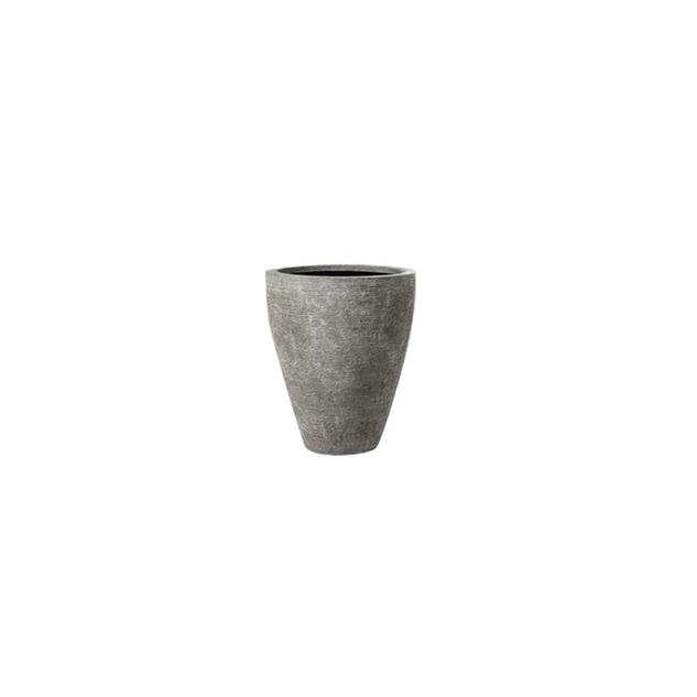 Textured Grey Planter