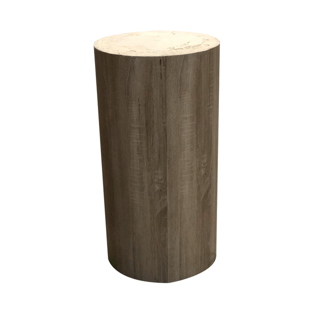 Wood High End Table