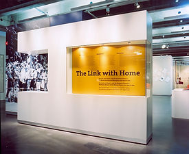 The Link With Home | tecton Ausstellungsdesign