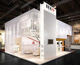 EEX Messestand | tecton Ausstellungsdesign