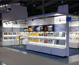 Springer Verlag Heidelberg | tecton Ausstellungsdesign