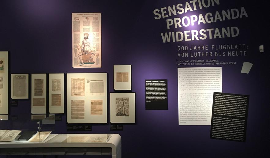 500 Jahre Flugblatt: Von Luther bis heute