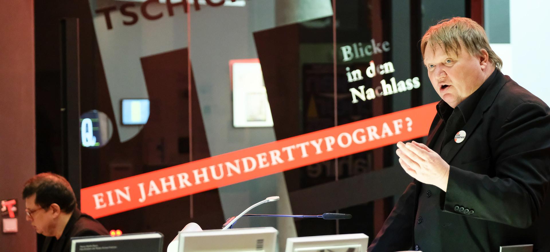Jan Tschichold - Ein Jahrhunderttypograf?