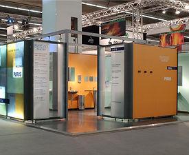 Kuhfuß Sanitär | tecton Ausstellungsdesign