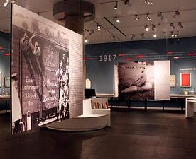 Kindheit und Jugend im Ersten Weltkrieg | tecton Ausstellungsdesign