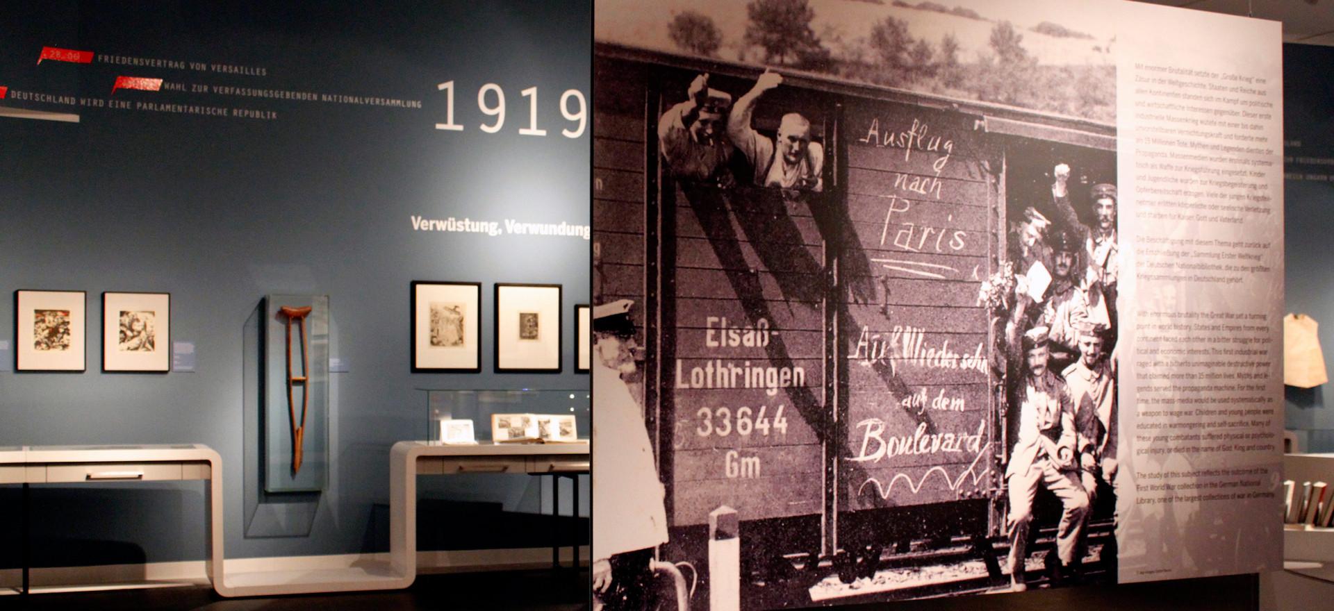 Kindheit und Jugend im Ersten Weltkrieg