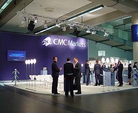 CMC Markets | tecton Ausstellungsdesign