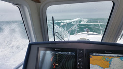 Seaward 42 in chunky conditions.