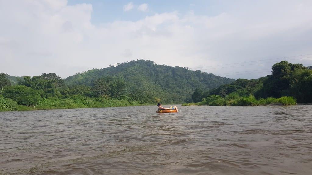 Tubing Palomino River
