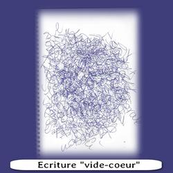 Ecriture vide-coeur