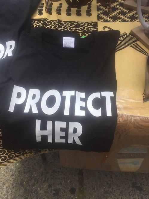 "Men's Black ""Protect Her"" T-Shirt"