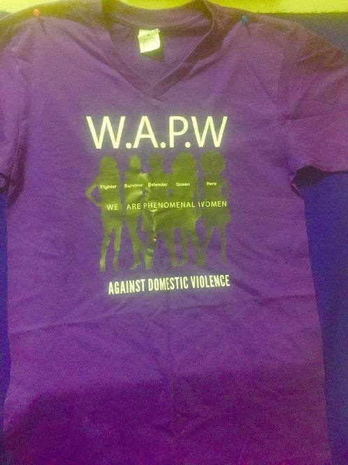 Women's S, M, L Purple T-Shirt