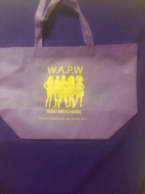 Purple Bag with Logo