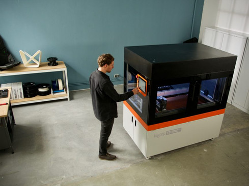 A New Generation of Large-Format 3D Printing: The BigRep STUDIO G2