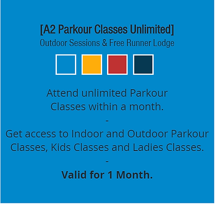 A2 Parkour Classes Unlimited