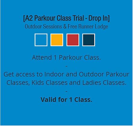 A2 Parkour ClassTrial - Drop In