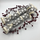 Thumbnail: Pull-able Crackers set of 2 - Scandi hearts