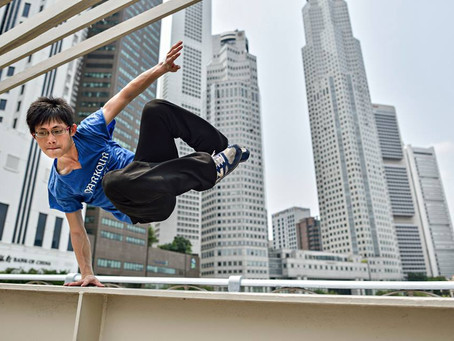 Five Reasons Why You Should Start Parkour!