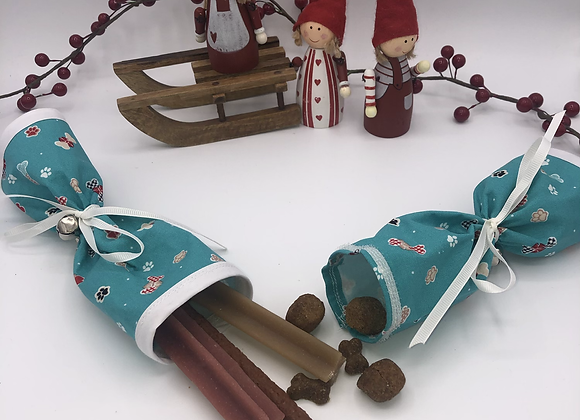 Canine Christmas Cracker! Pullable cracker for dogs