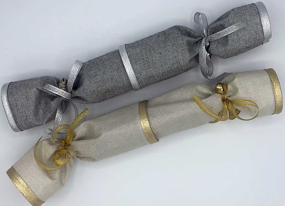 Glitter Crackers - Silver & Gold
