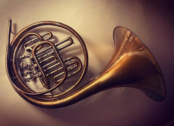 Alexander Vintage einfaches B Horn (verkauft)