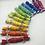 Thumbnail: Mini Rainbow Crackers - Set of 12