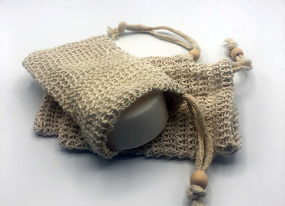 Sisal soap bags - Exfoliating and soap saving