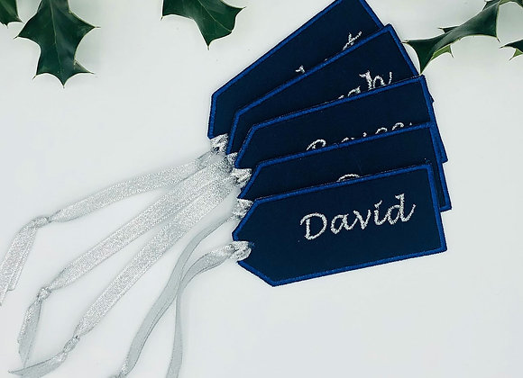 Everlasting gift tags