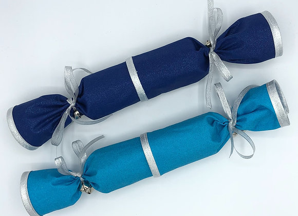 Glitter Crackers - Turquoise & Blue
