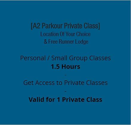 A2 Private Parkour Class