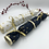 Thumbnail: Christmas Crackers Gold White & Blue  - Pullable and reusable