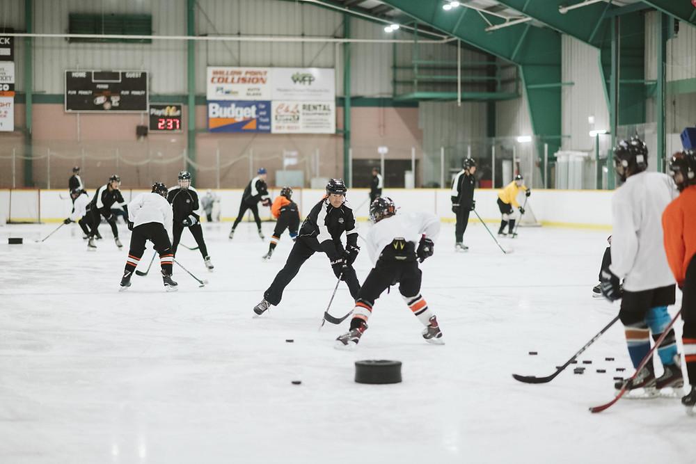 campbell river hockey training