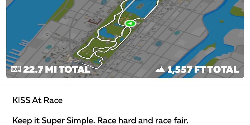 "Zwift Race ""KISS at RACE"""
